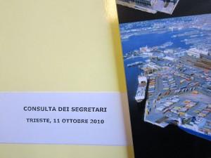 CONSULTA DEI SEGRETARI CONFETRA 2010 – Trieste 10/11 Ottobre 2010